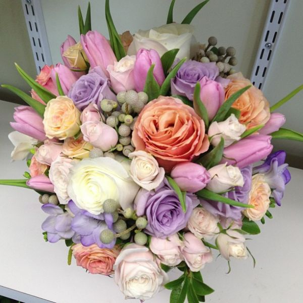 Wedding Bouquet - Stemz Florist
